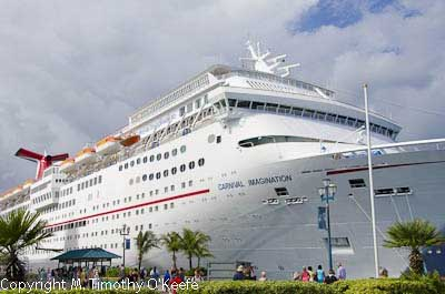 Carnival imagination docked port of nassau bahamas - Cruise port nassau bahamas ...