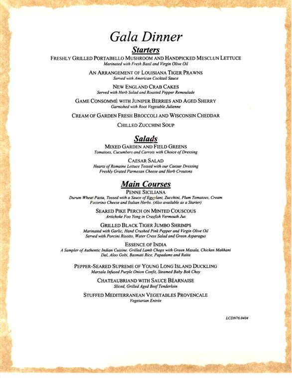Cruise dinner menus Images Frompo 1