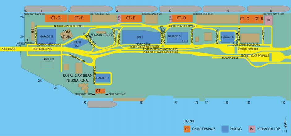 map of port of miami cruise terminal Port Of Miami Map Map Of Cruise Port Of Miami map of port of miami cruise terminal