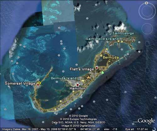 Google Map Of Bermuda