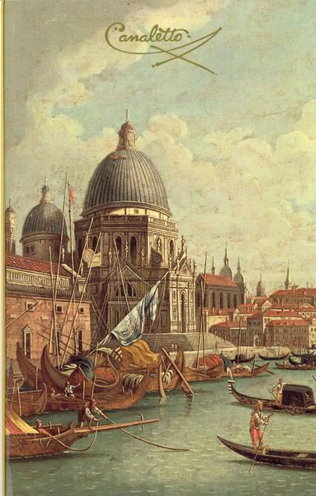 Holland American Canaletto Restaurant Menu Cover