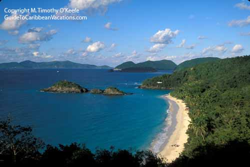 Caribbean Beaches Photo Gallery: St. John Trunk Bay Beach Photos Pictures