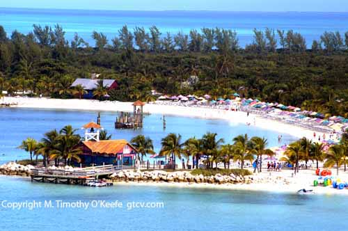 Disney Cruise Photos Pictures Castaway Cay Bahamas  �M. Timothy O'Keefe www.GuideToCaribbeanVacations.com