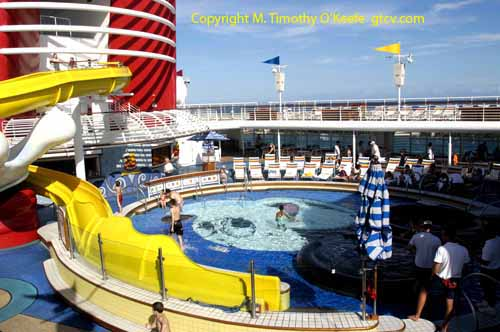 Disney Cruise Lines Disney Wonder Children's Pool  ©M. Timothy O'Keefe www.GuideToCaribbeanVacations.com