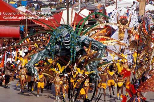 Trinidad Carnival Photos Pictures 22 Parade Of Bands Trinidad Photo Gallery